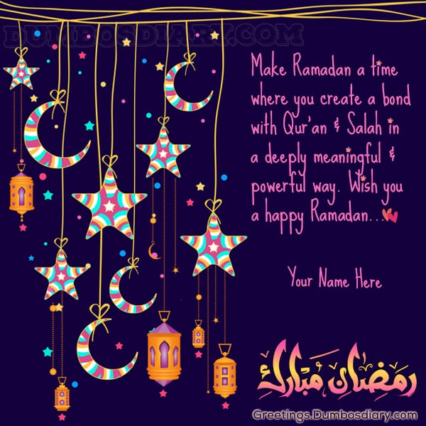 Moon n star ramadan wishes cover