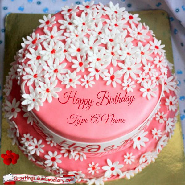 jasmine flowers pink cake